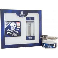 The Bluebeards Revenge BBRSCCUTK Shaving Cream & Cutlass Razor Gift Set