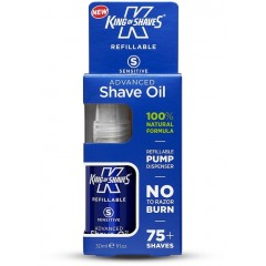 King of Shaves 10177914 Advanced Sensitive Shave 30ml Pre Shave Oil