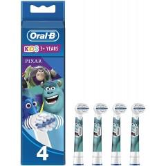 Oral-B EB10-4  Disney Pixar Pack of 4 Toothbrush Heads
