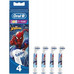 Oral-B 80352671 Spider-Man Pack of 2 Toothbrush Heads