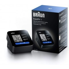 Braun BUA5000EU ExactFit 1 Automatic Upper Arm Blood Pressure Monitor