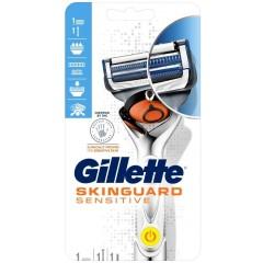 Gillette 81734512 SkinGuard Sensitive Power Razor