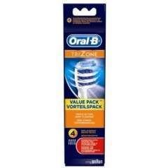 Oral-B EB30-4 4 Pack TriZone Toothbrush Heads