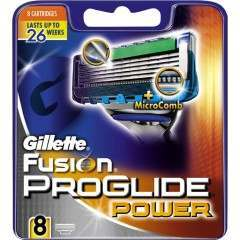 Gillette 81468934 Fusion ProGlide Power Pack of 8 Blade Pack
