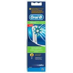 Oral-B EB50-2 CrossAction 2 Pack Toothbrush Heads
