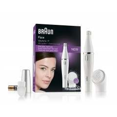 Braun 810 Face Cleansing Brush + Mini Epilator