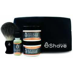 êShave 41004 Orange Sandalwood Shaving Start Up Kit