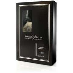 Edwin Jagger PPS-GS214SCSWT Sandalwood Ebony Brush & Shaving Cream Shaving Start Up Kit