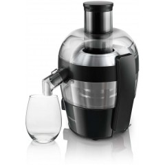 Philips HR1832/01 Viva Collection Black Juicer