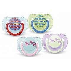 Philips Avent SCF172/22 (6-18 months) Pack of 2 Fashion Soother