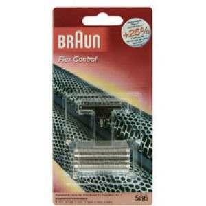 Braun 586 Foil & Cutter Pack