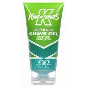 King of Shaves 2KS-118252 Alphagel Sensitive Skin Cooling Menthol Shaving Gel