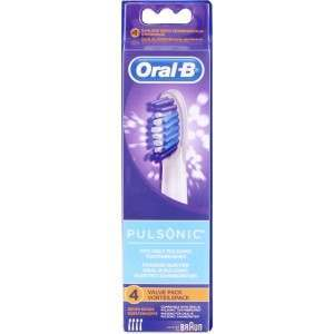Oral-B SR32-4 Pulsonic 4 Pack Toothbrush Heads