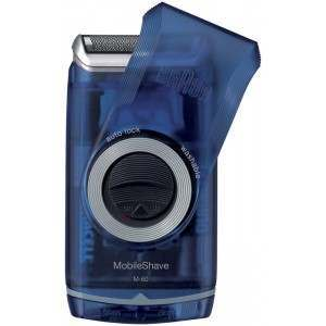 Braun M-60b Pocket Go Battery Men's Electric Shaver