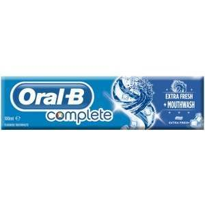 Oral-B 81516502 Complete Extra Fresh + Mouthwash Toothpaste
