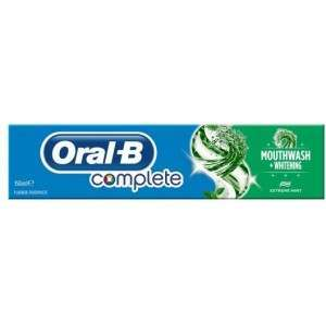 Oral-B 81482228 Complete Mouthwash + Whitening Toothpaste