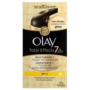 Olay 81500428 Total Effects 7 Touch of Sunshine Moisturiser