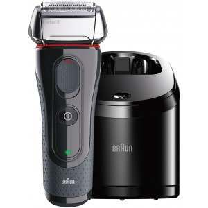 Braun 5050cc Series 5 with Clean & Renew System Men's Electric Shaver