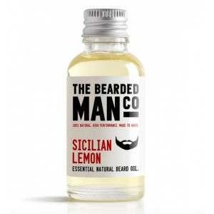 The Bearded Man Co. 10ml Sicilian Lemon Essential Natural Beard Oil