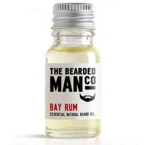 The Bearded Man Co. 10ml Bay Rum Essential Natural Beard Oil