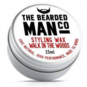 The Bearded Man Co. Walk In The Woods Styling Moustache Wax