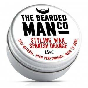 The Bearded Man Co. Spanish Orange Styling Moustache Wax