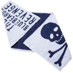 The Bluebeards Revenge 100% Cotton Shaving Towel