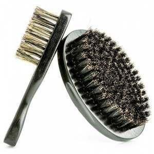 HEAD JOG Wood Beard & Moustache Brush Grooming Kit