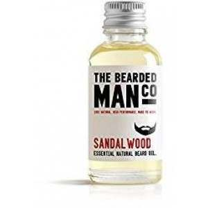 The Bearded Man Co. 10ml Sandalwood Essential Natural Beard Oil
