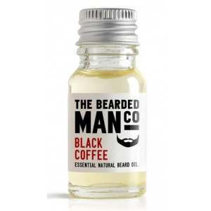 The Bearded Man Co. 10ml Black Coffee Essential Natural Beard Oil