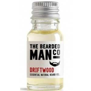 The Bearded Man Co. 10ml Driftwood Essential Natural Beard Oil