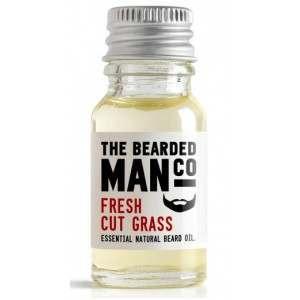 The Bearded Man Co. 10ml Fresh Cut Grass Essential Natural Beard Oil