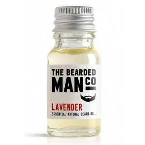The Bearded Man Co. 10ml Lavender Essential Natural Beard Oil