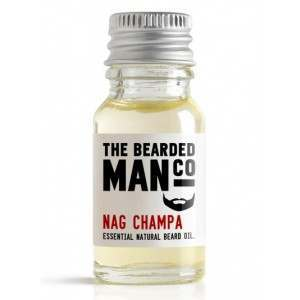 The Bearded Man Co. 10ml Nag Champa Essential Natural Beard Oil