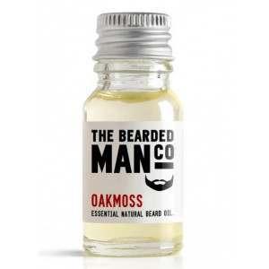 The Bearded Man Co. 10ml Oakmoss Essential Natural Beard Oil