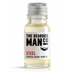 The Bearded Man Co. 10ml Steel Essential Natural Beard Oil
