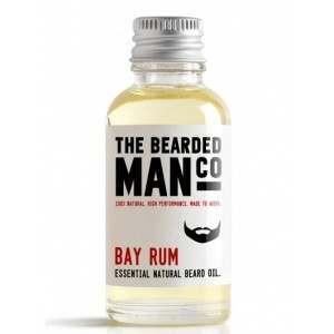 The Bearded Man Co. 30ml Bay Rum Essential Natural Beard Oil
