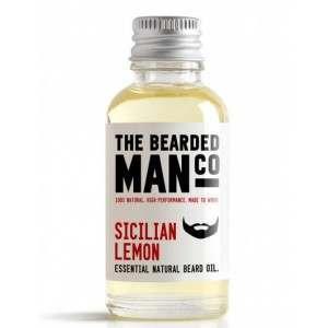 The Bearded Man Co. 30ml Sicilian Lemon Essential Natural Beard Oil