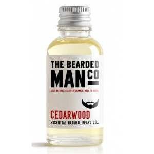 The Bearded Man Co. 30ml Cedarwood Essential Natural Beard Oil
