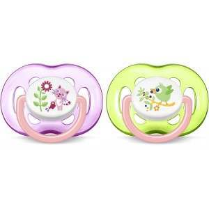 Philips SCF186/25 Freeflow Pack of 2 Soother