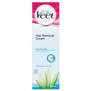 Veet TOVEE081 100ml Sensitive Hair Removal Cream