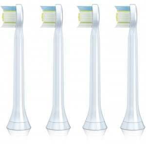 Philips HX6074/26 DiamondClean 4-Pack Mini Toothbrush Heads