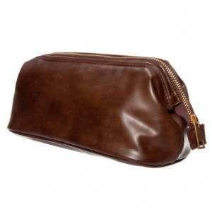 Monza SJA42059 Classic Brown Wash Bag