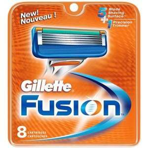Gillette 81307323 Fusion Pack of 8 Blade Pack