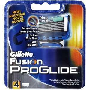 Gillette 81307365 Fusion ProGlide Pack of 4 Blade Pack