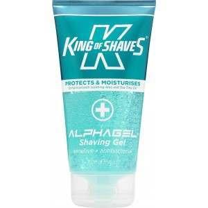 King of Shaves 2KS-118290 AlphaGel Antibacterial Shaving Gel