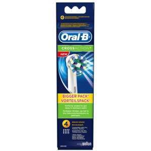 Oral-B EB50-4 CrossAction 4 Pack Toothbrush Heads
