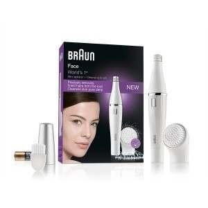 Braun 810 Face Cleansing Brush + Mini Epilator