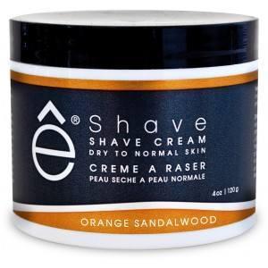 êShave Orange Sandalwood Shaving Cream