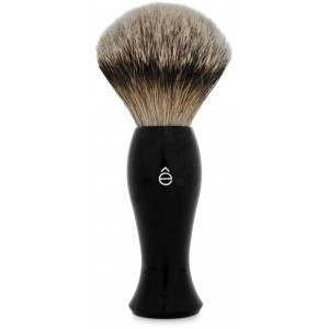 êShave 83009 Black Long Handle, Silvertip Badger Shaving Brush